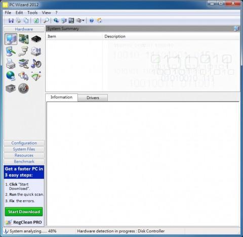 電腦硬體檢測工具 PC Wizard 2012