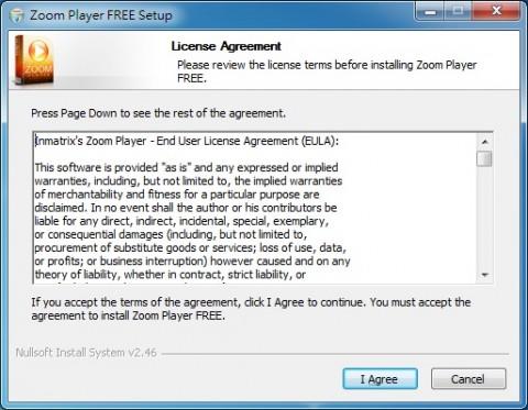 家用免費影音播放軟體 zoom player home free
