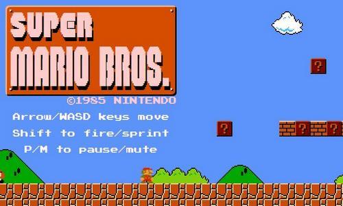 超級瑪莉歐線上玩 HTML5 Game