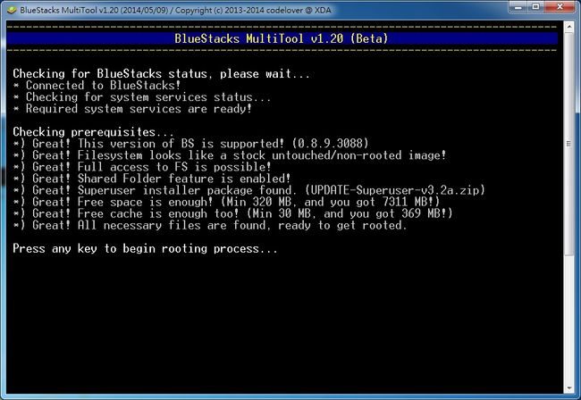Android 模擬器 Bluestacks Root 教學