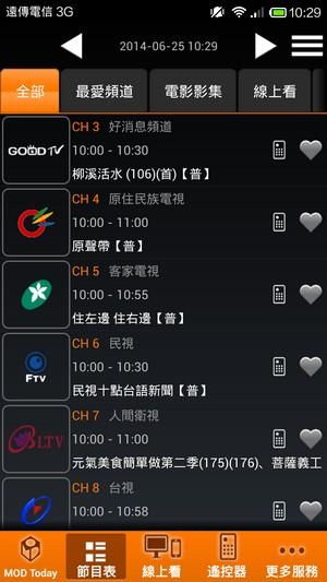 中華電信 MOD APP下載2