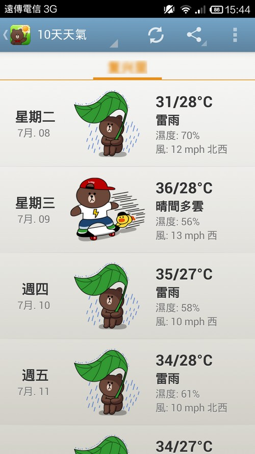 Line Weather03