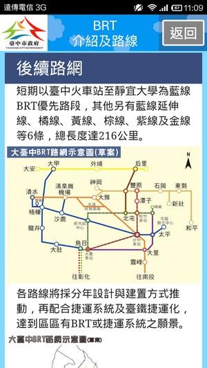台中BRT快捷巴士公車捷運APP04