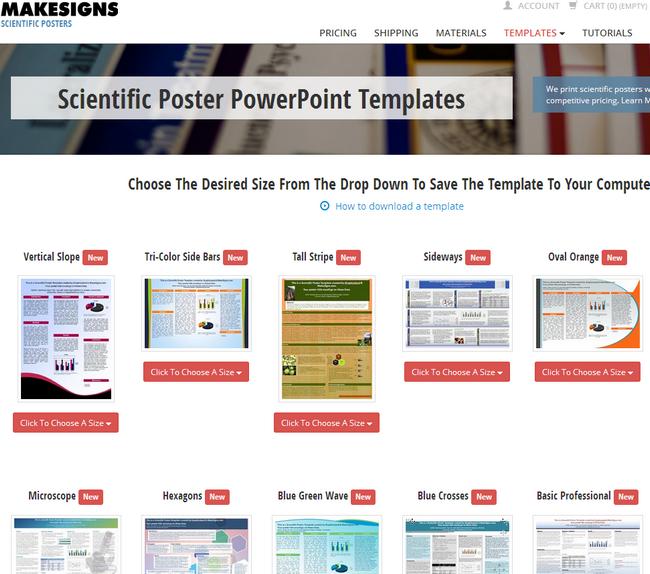 海報範例 Poster PowerPoint01