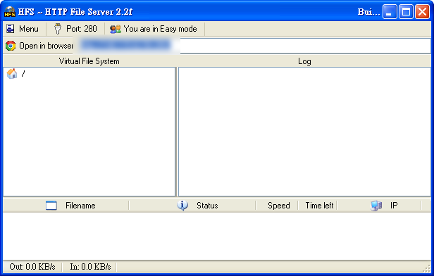 http file server 中文