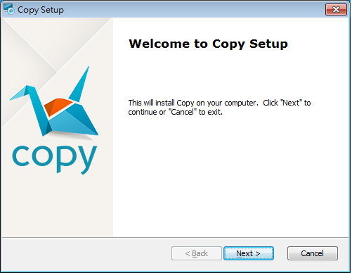 Copy雲端空間同步軟體01