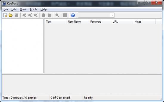 密碼管理軟體免安裝版 KeePass Password Safe 01