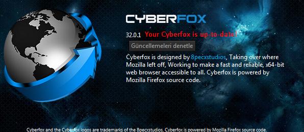 火狐瀏覽器最佳化版本 Cyberfox01