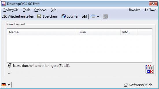 桌面圖示排列問題交給DesktopOK01