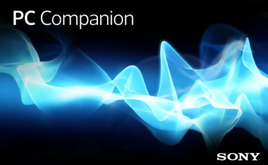 sony手機管理程式 PC Companion01