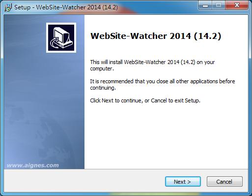 監控網站是否更新好工具 WebSite-Watcher01