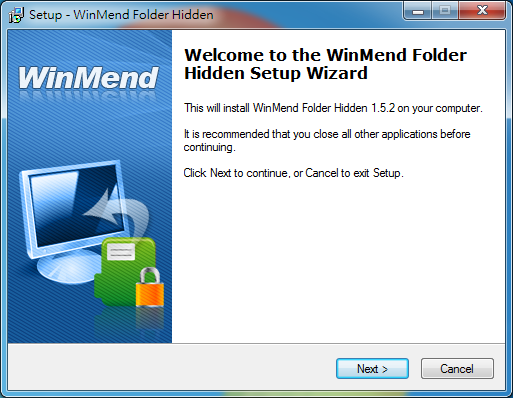 免費檔案資料夾隱藏工具 WinMend Folder Hidden01