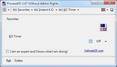 程式當機關不掉如何關閉 ProcessKO01