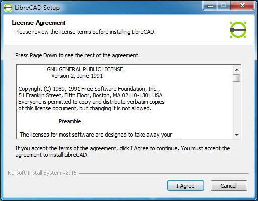 免費2D CAD 繪圖軟體 LibreCAD01