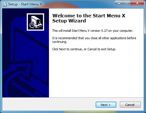 Start Menu X 讓你的Win8 恢復開始功能表01