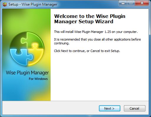 瀏覽器外掛程式管理 Wise Plugin Manager01