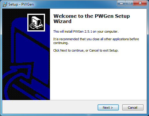 密碼產生器 PWGen01