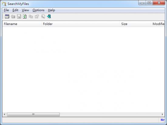 檔案搜尋程式 SearchMyFiles01