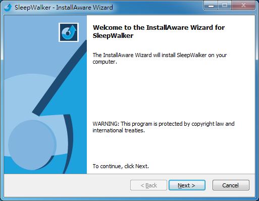 電腦定時關機程式 SleepWalker 01