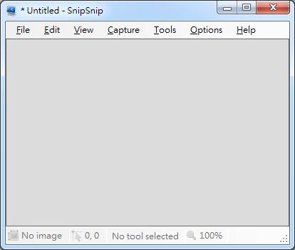 電腦螢幕抓圖軟體 SnipSnip01