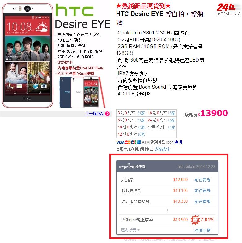 Ezprice比價網 幫你找出網購平台最便宜01