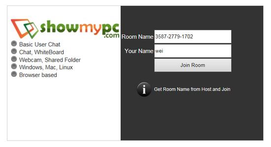 遠端桌面連線程式 ShowMyPC02