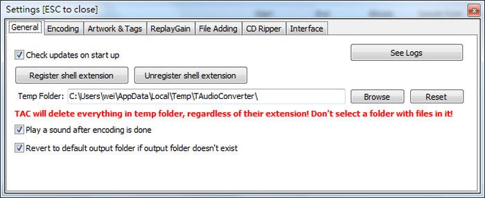 Mp3切割器下載 TAudioConverter Audio Converter02