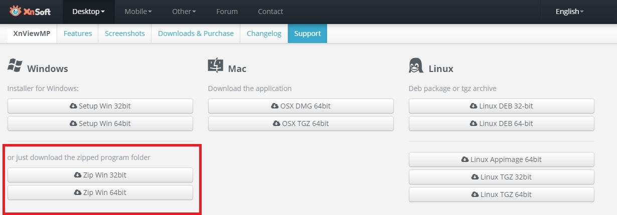 看圖軟體免安裝 最推薦Xnview繁體 簡易操作介面