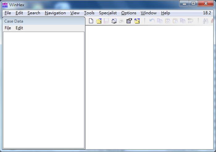 免費文字編輯器 winhex 01