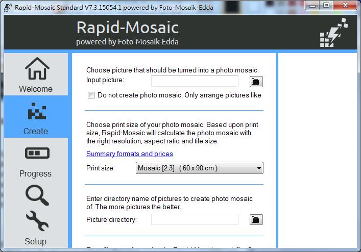 蒙太奇圖片製作軟體 Foto-Mosaik-Edda02