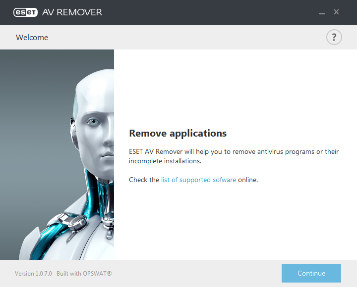 免費掃毒工具 ESET AV Remover 免安裝01
