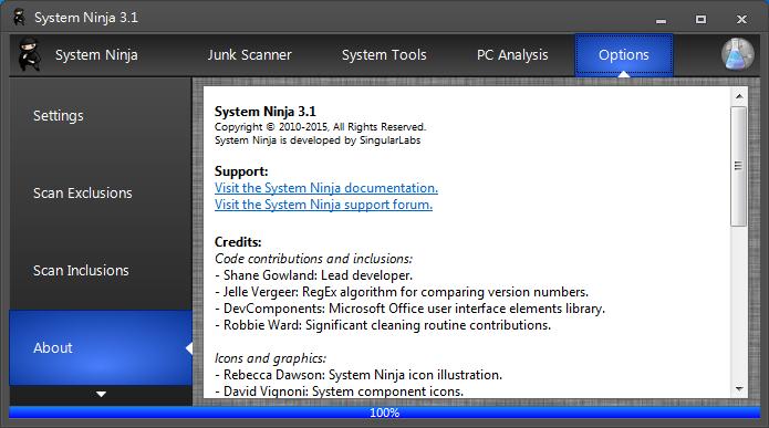 系統清理與檔案分析 System Ninja02