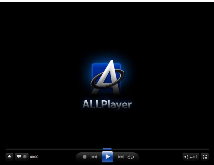 萬用格式影片播放器 ALLPlayer01