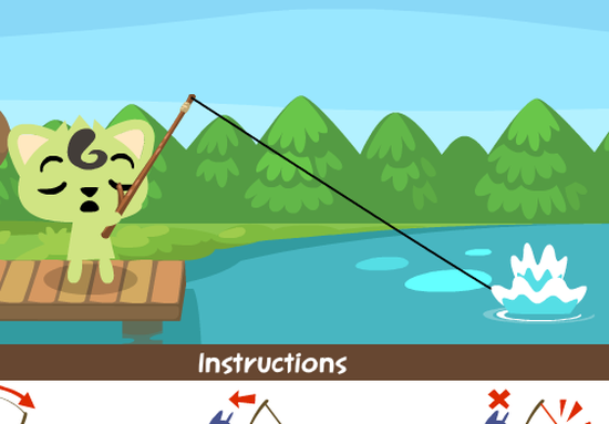 Facebook Pet Society 寵物釣魚教學5