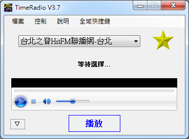 網路收音機 TimeRadio