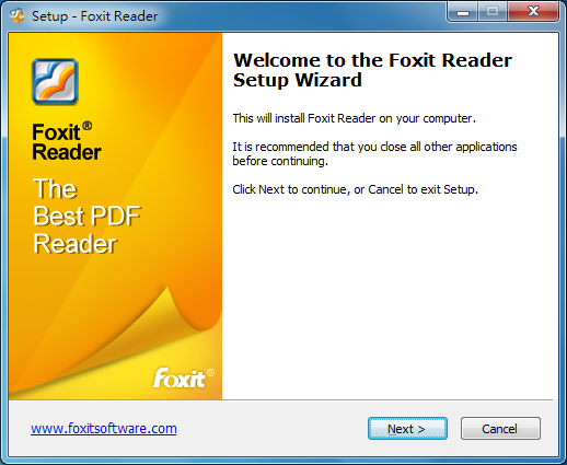 PDF閱讀器 Foxit reader