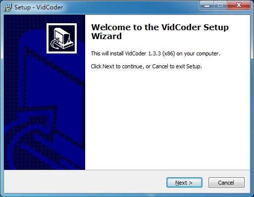 DVD/BD轉檔格式 VidCoder