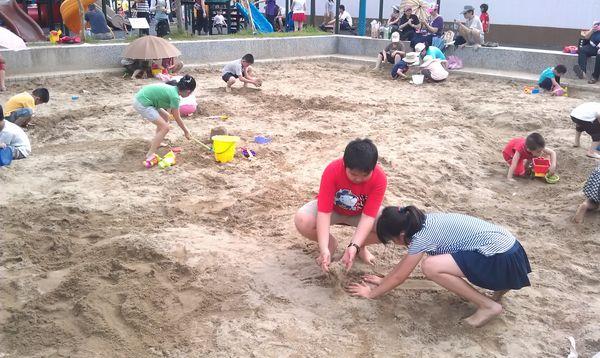 台北玩沙地點