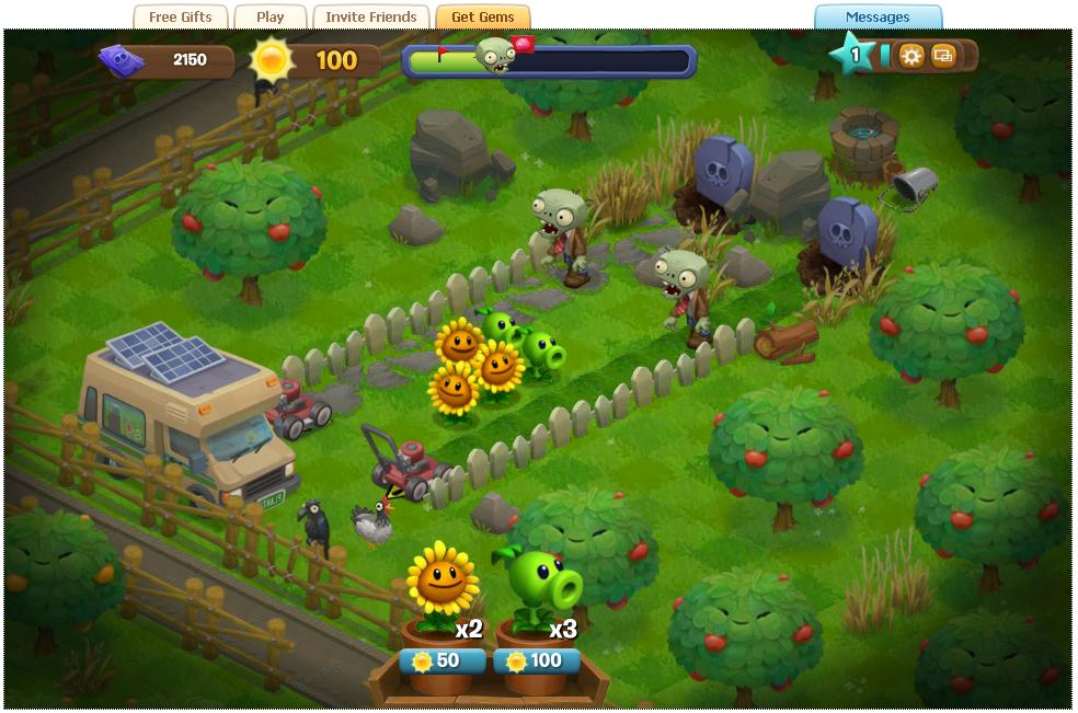 植物大戰殭尸 Plants vs. Zombies Adventures