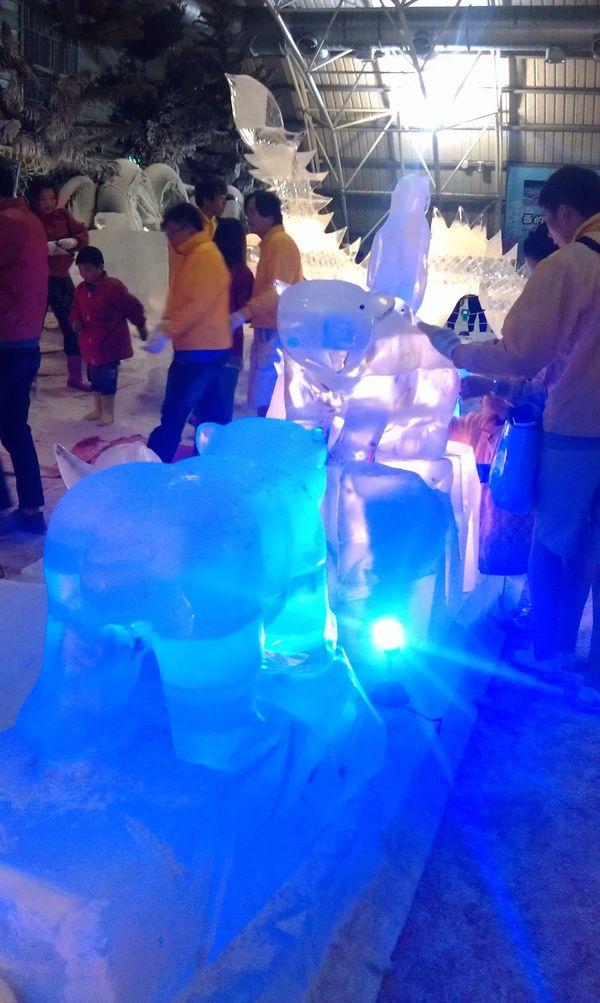 小叮噹科學主題樂園冰雪節