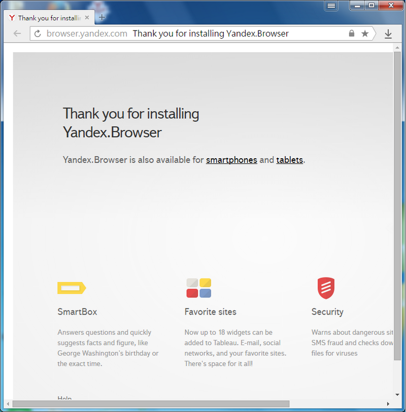 來自俄羅斯免費瀏覽器 Yandex Browser 01