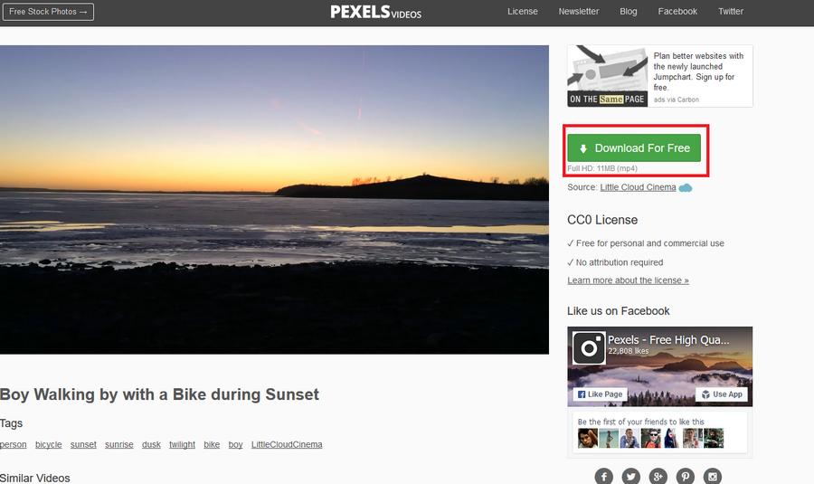 免費影片素材推薦 Pexels Videos03