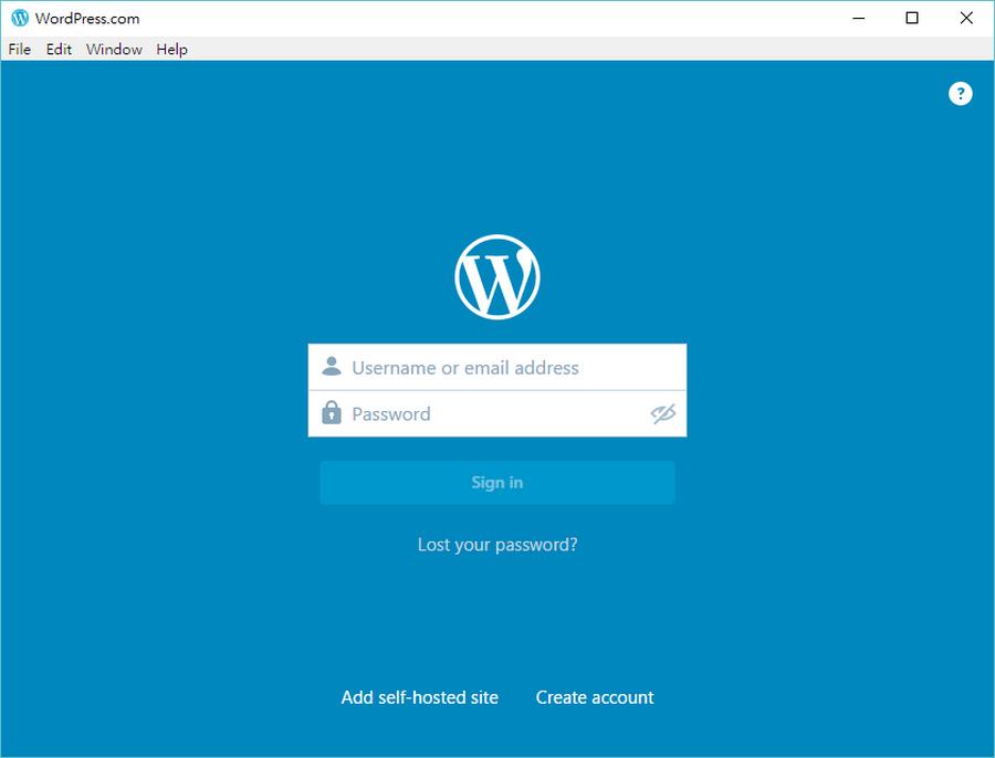 WordPress桌面版程式下載01