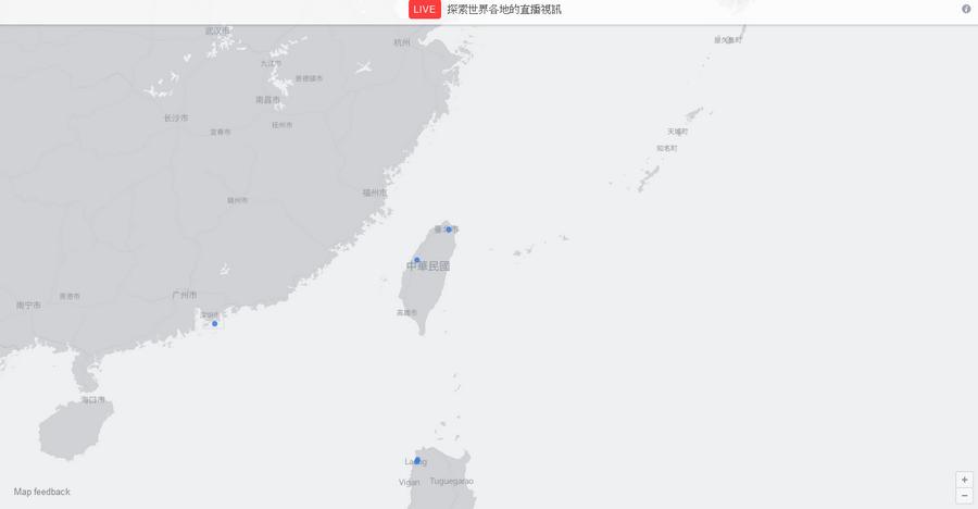 臉書Facebook推出直播地圖02
