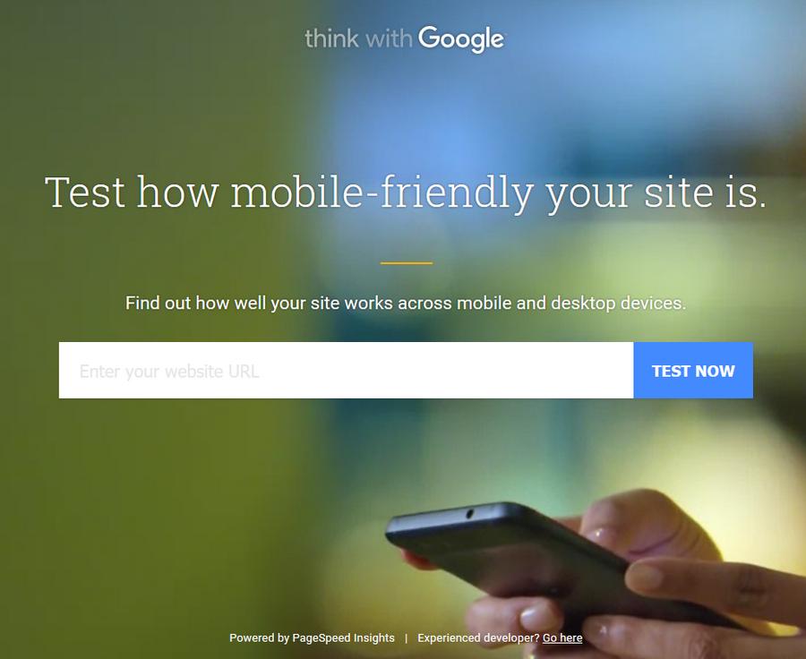 你有網站嗎? 試試Google網站品質檢測工具01