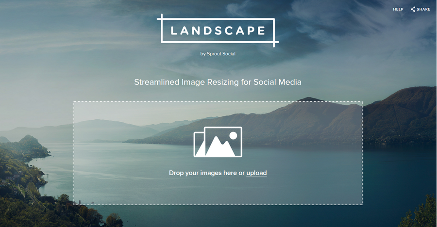 幫你做好社群圖片最佳化切割 Landscape01