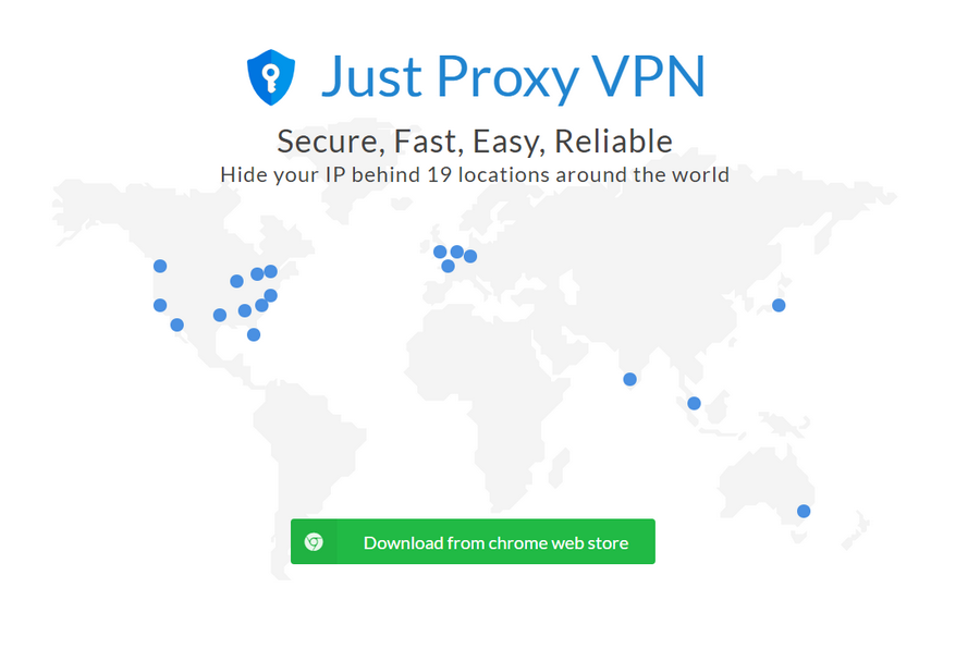 免費VPN Just Proxy VPN 01