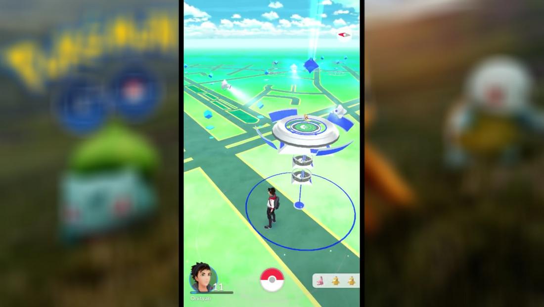 Pokemon Go 寶可夢如何打道館挑戰01