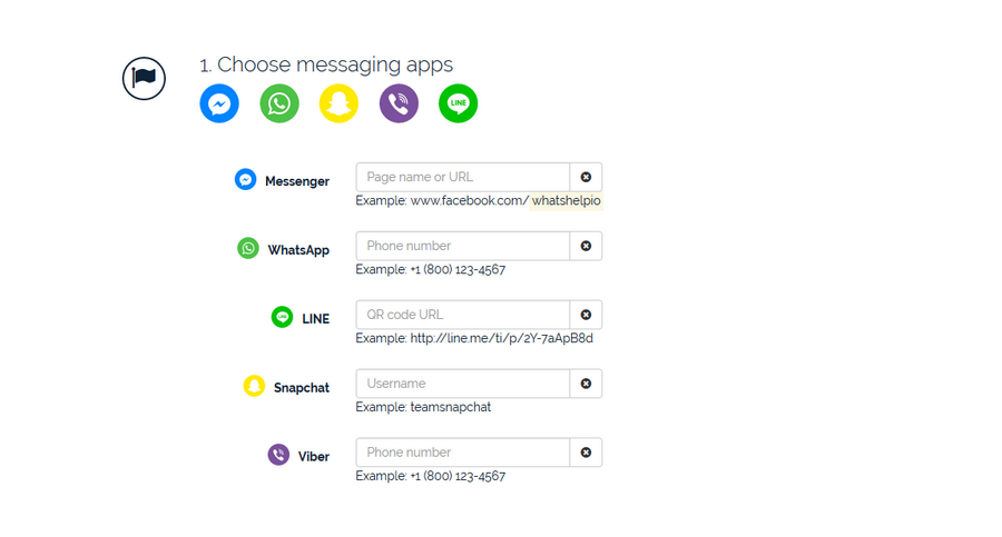打造專屬網站客服系統 WhatsHelp.io02