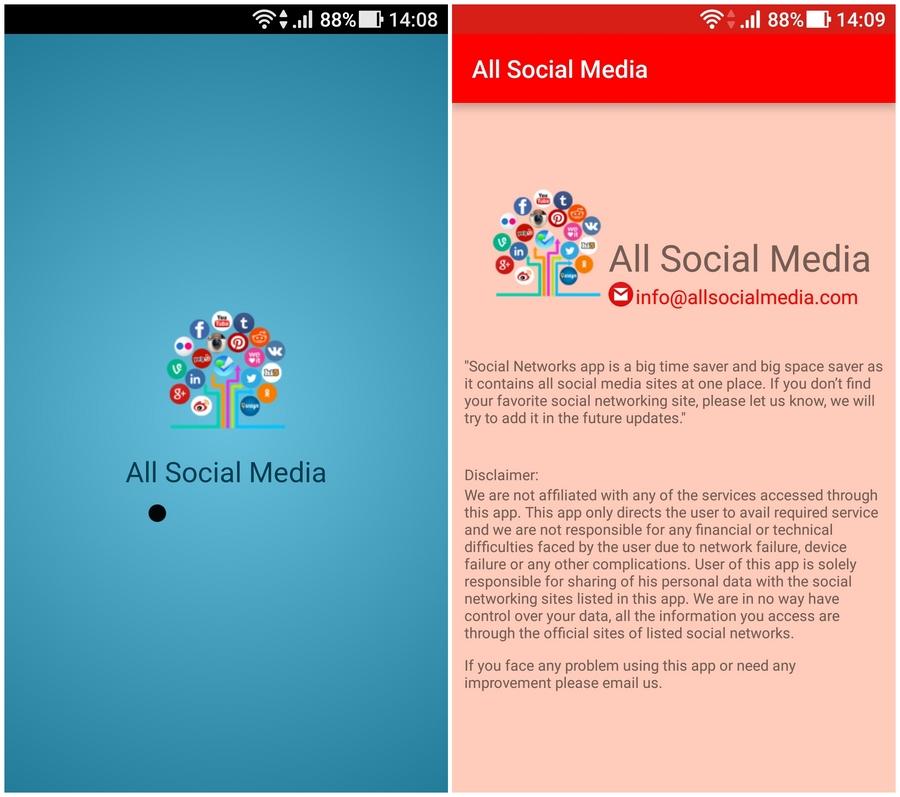 整合社群App 所有的社交網絡